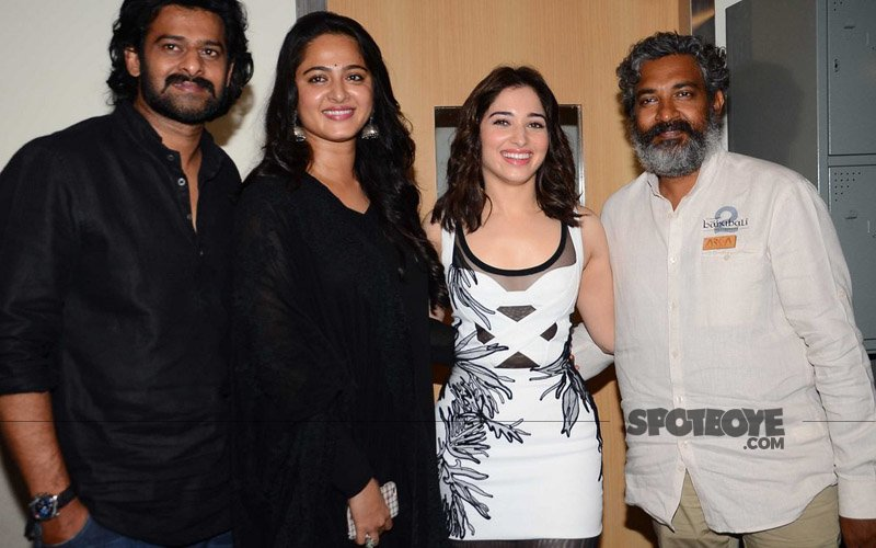 Prabhas, S.S. Rajamouli Unveil The First Look Of Baahubali 2 At MAMI