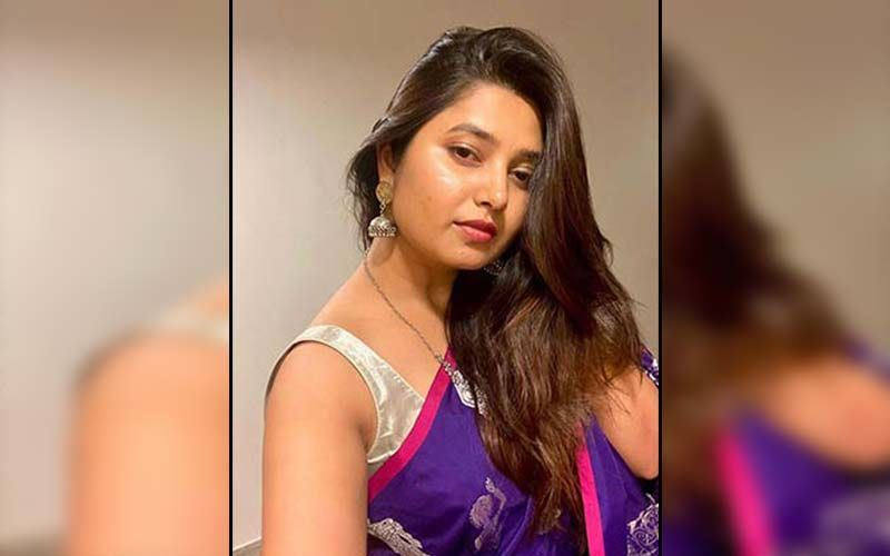 Prajakta Mali Is Making A Bold Fashion Statement In A Green Indo-Western Lehenga