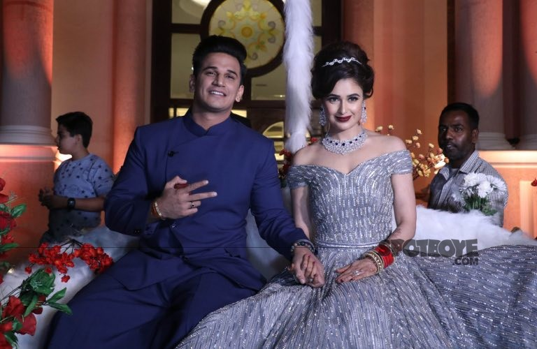 Yuvika Chaudhary and Prince Narula