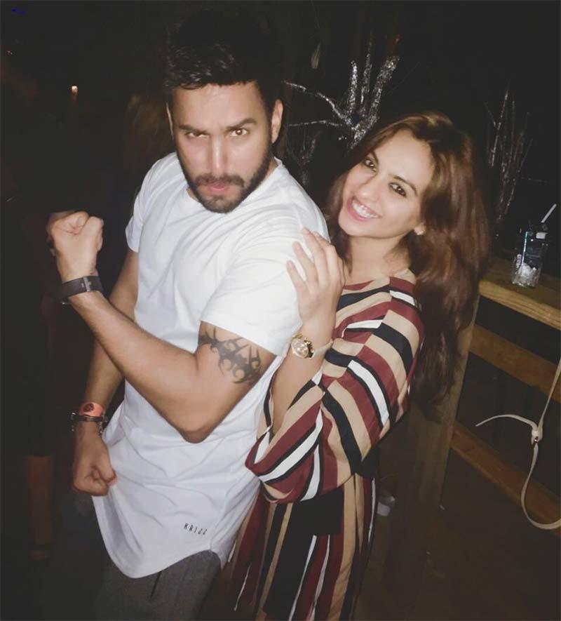Priya Bhatija With DJ Kawaljeet 1