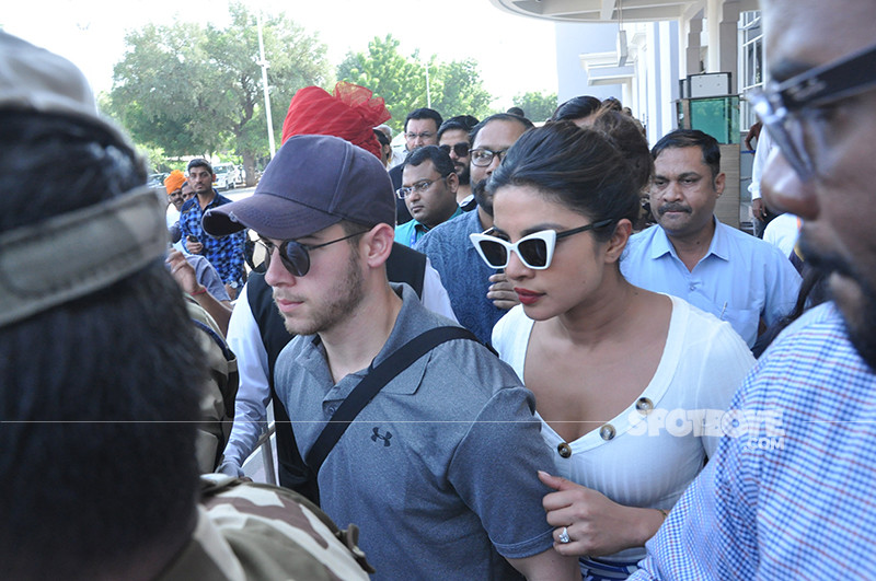 Priyanka Chopra And Nick Jonas At Jodhpur