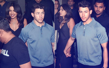 Priyanka Chopra And Nick Jonas Step Out For Dinner With Friends – View Pics And Videos