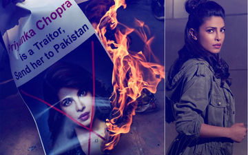Despite Apology, Priyanka Chopra's Quantico Posters Torched In Delhi