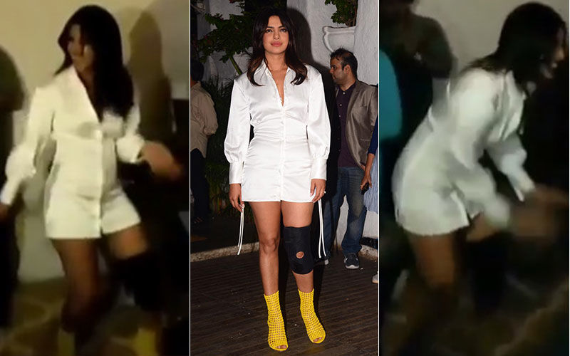 The Sky Is Pink Wrap-Up Bash, Inside Videos: Priyanka Chopra Dances The Night Away Despite Injury