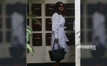 Priyanka Chopra's White Outfit Looks Like A Plain Bathrobe And We Ain't Impressed!