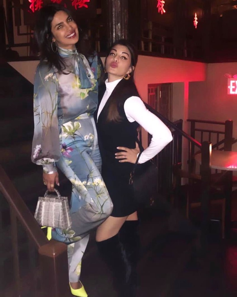Priyanka Chopra With Jacqueline Fernandez