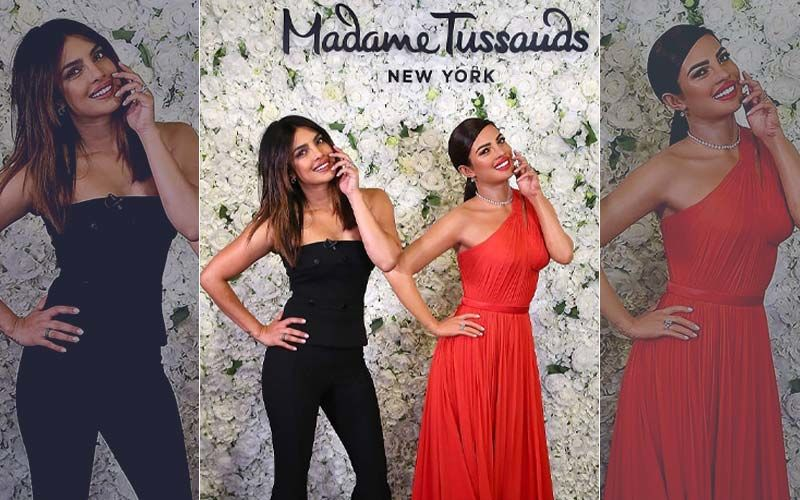 Priyanka Chopra Unveils Her Wax Statue At Madame Tussauds, New York