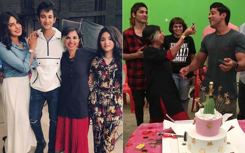 Sky Is Pink Wraps-Up: Priyanka Chopra Jonas-Farhan Akhtar Celebrate With Team