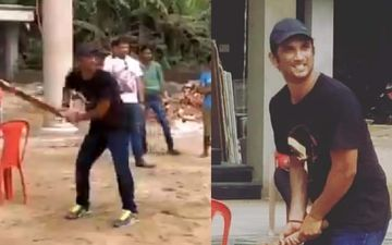 Sushant Singh Rajput Death: When The Actor Enjoyed A Game Of Cricket With His Relatives And Locals In Bihar - VIDEO
