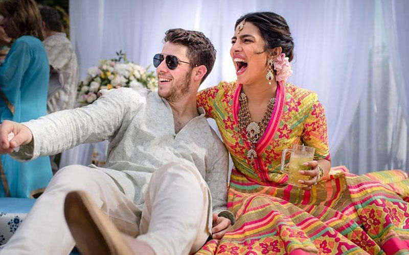 Priyanka Chopra- Nick Jonas Mehendi Ceremony: First Pictures Of The Couple From Umaid Bhawan