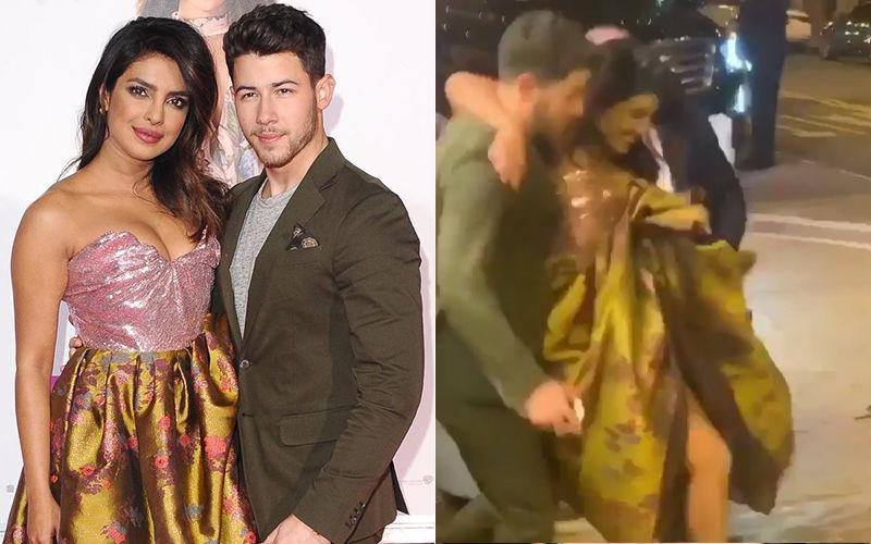 When Priyanka Chopra Was Swept Off Her Feet By Nick Jonas, Quite Literally! – Watch Video