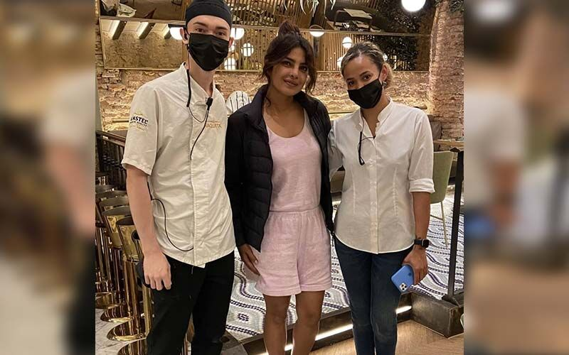 Priyanka Chopra Jonas Poses With Fans At A Restaurant In Spain; New Picture Goes Viral