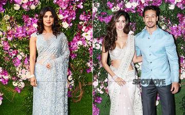Akash Ambani-Shloka Mehta Wedding: Priyanka Chopra Is Stunning In A Saree, Tiger-Disha Are Adorable Together