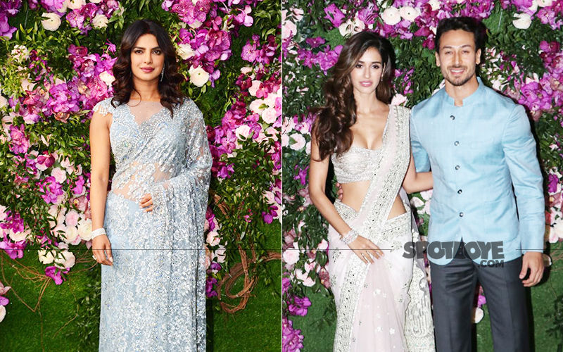 Akash Ambani-Shloka Mehta Wedding: Priyanka Chopra Is Stunning In A Saree, Tiger-Disha Are Adorable Together