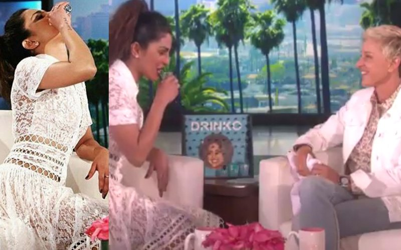 'India Drinks A LOT!' Says Priyanka Chopra On The Ellen DeGeneres Show