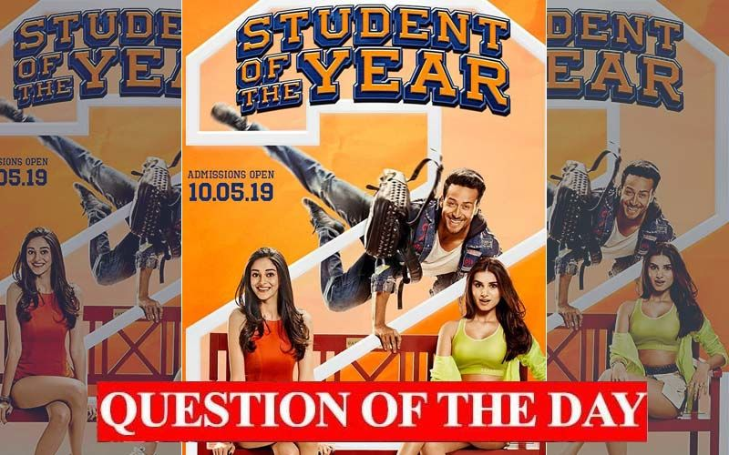 Are You Watching Student Of The Year 2 Over The Weekend?