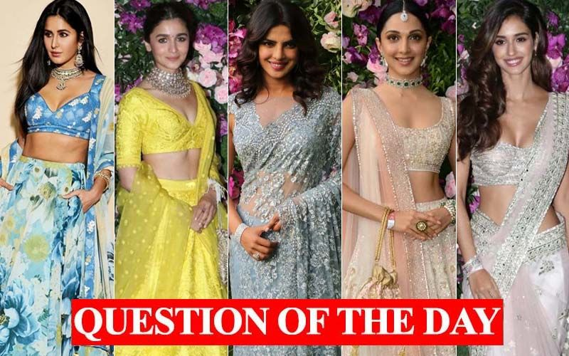 Katrina, Alia, Priyanka, Kiara, Disha- Which Diva Was The Best Dressed At Akash Ambani-Shloka Mehta's Wedding Ceremony?