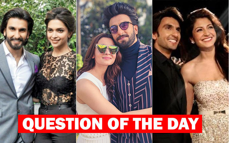 Ranveer Makes The Best On-Screen Jodi With Deepika, Alia Or Anushka?