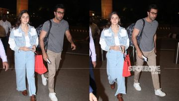 Ranbir Kapoor-Alia Bhatt Make A Fashion Splash As They Jet Off To NYC For New Year Celebrations