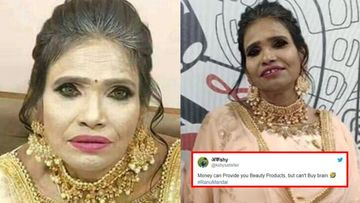 Internet Sensation Ranu Mondal Gets Trolled Once Again; This Time For Sporting A Heavy, OTT Makeup – PHOTOS