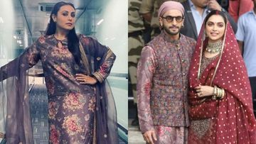 Rani Mukerji And Ranveer Singh Don Ditto Purple Kurtas And We Can't Decide Who Pulled It Off Better – PICTURES