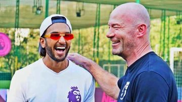 Ranveer Singh Shares His 'Footballing Royalty' Moment As He Meets Premier League Legend Alan Shearer