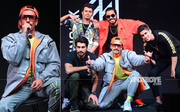 Ranveer Singh Unleashes His Inner Rapper At Launch Of His Independent Music Label IncInk