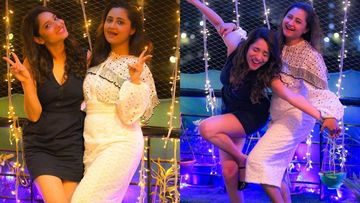 BFFs Rashami Desai-Ankita Lokhande's Wild Night; Actress Showers Rashami With Cake, Hugs And Kisses – VIDEO