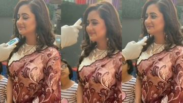 Coronavirus Outbreak: Rashami Desai Tested By Lab Officials On The Sets Of Naagin 4; Actress Cooperates – VIDEO