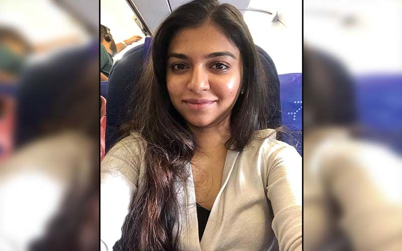Raveena Ravi Is Back In Chennai After Completing A Schedule Of Vishal 31 In Hyderabad