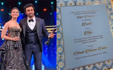 Invitation Card Of Ranbir Kapoor And Alia Bhatt's Sagan Ceremony Takes Internet By Storm, But Here's The Truth