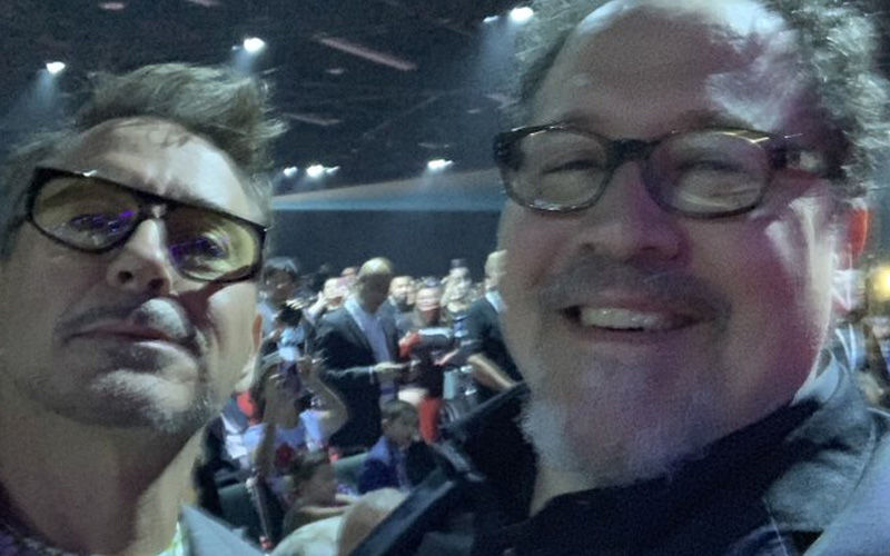 Iron Man Robert Downey Jr And Happy Hogan Aka Jon Favreau's Selfie At D23 Expo Is Enough To Make Us Smile All Day!