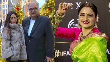 Rekha And Boney Kapoor Are In Hyderabad To Grace The ANR Awards; Latter To Accept The Trophy On Behalf Of Wife And Late Actress Sridevi