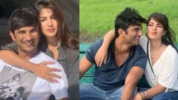 Sushant Singh Rajput's GF Rhea Chakraborty Changes Her WhatsApp DP To A Mushy Snap With Actor On His 1 Month Death Anniversary - PIC