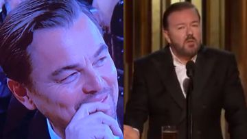 Golden Globes 2020: Host Ricky Gervais Pokes Fun At Leonardo DiCaprio, Martin Scorsese, Felicity Huffman With His 'Offensive' Monologues