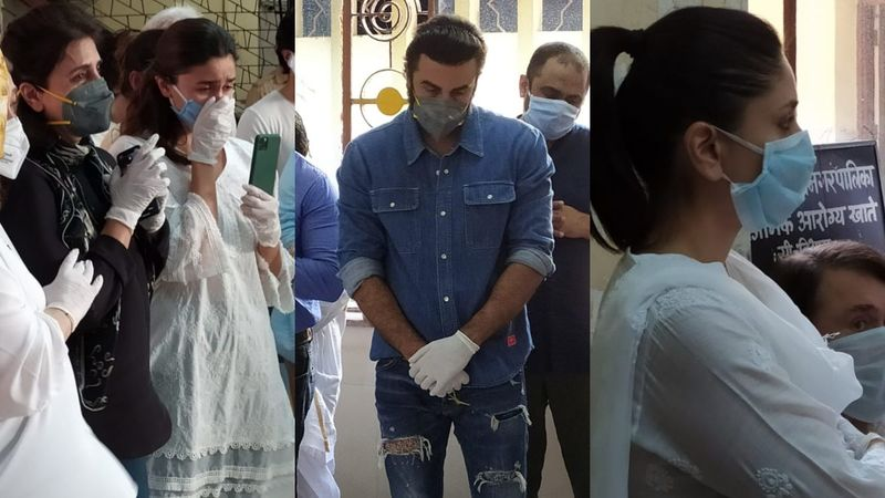 Rishi Kapoor Funeral: Neetu Kapoor Breaks Down; Alia Bhatt Face Times Riddhima Kapoor, Ranbir Bids Adieu
