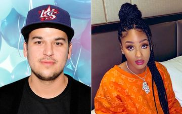 Rob Kardashian Leaves A Thirsty Comment On Model Ayana Charm's 'Be Mine' Post; Fans Say, 'We See You'