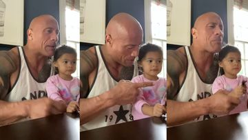 Dwayne Johnson's Daughter Refuses To Believe He's 'Maui' From Moana, Or For That Matter Even 'The Rock' - Watch Hilarious VIDEO