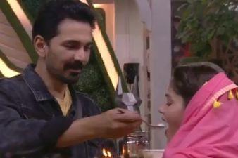Bigg Boss 14: Rubina Dilaik And Abhinav Shukla Celebrate Karva Chauth 2020; Fans Trend #RubiNav Calling Them 'Power Couple'