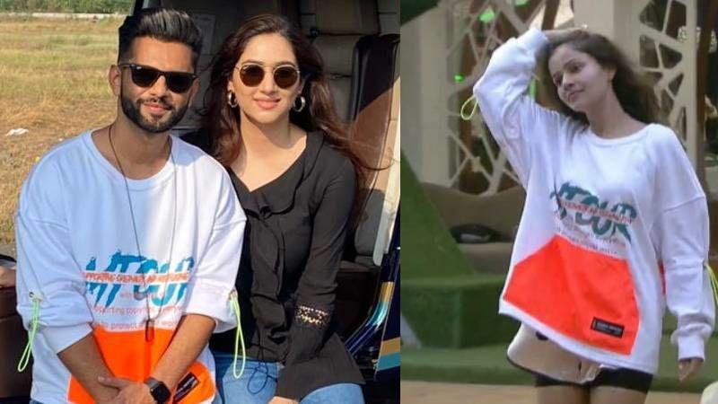 Bigg Boss 14's Rahul Vaidya Sports A Similar T-Shirt Worn By Rubina Dilaik As He Takes A Chopper Ride With GF Disha Parmar; Netizens Call Him 'Copycat'