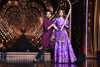 Nach Baliye 9: Rajkumar Rao And Raveena Tandon Recreate The Iconic Scene From Andaz Apna Apna - PICS HERE