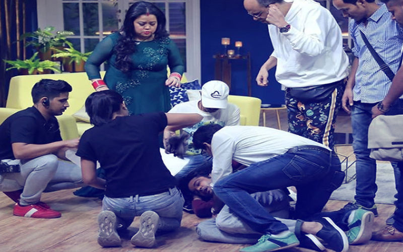 Rajeev Khandelwal Faints On The Sets Of JuzzBaatt. Here's What Happened Next..