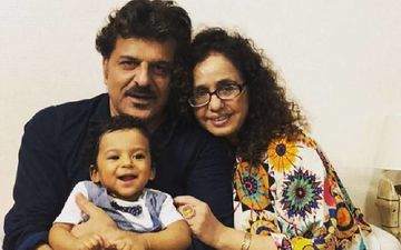Shahid Kapoor's Former Step Father Rajesh Khattar And Wife Vandana Sajnani Celebrate Their Son's First Birthday With Zeal - PICS