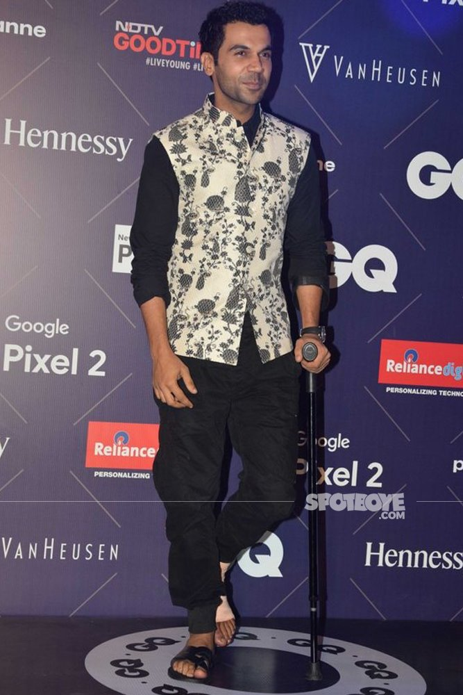 Rajkummar Rao At GQ Fashion Nights