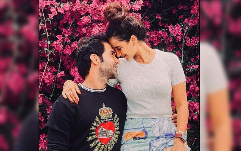 Patralekhaa Drops A Mushy Picture With Beau Rajkummar Rao On His Birthday; Says, 'Thank You For Being Rock Solid Through This Difficult Period'