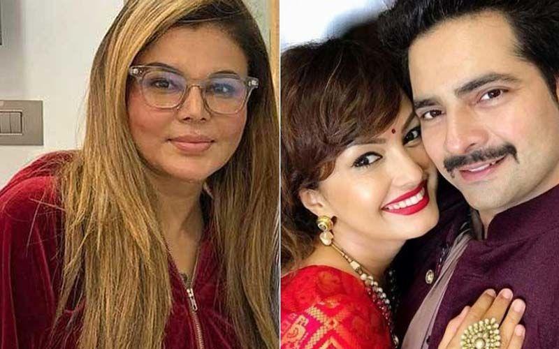Rakhi Sawant Urges Nisha Rawal And Karan Mehra To Resolve Their Problems; Says ' Please Ek Hojao, Alag Mat Ho' - WATCH