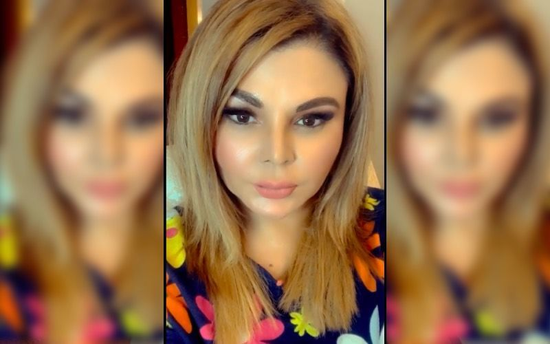 Rakhi Sawant Shares A Picture Of Herself Doing Yoga; Actress Pens A Note On Staying Fit During The COVID-19 Pandemic