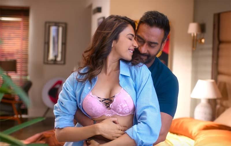 Rakul Preet Singh With Ajay Devgn