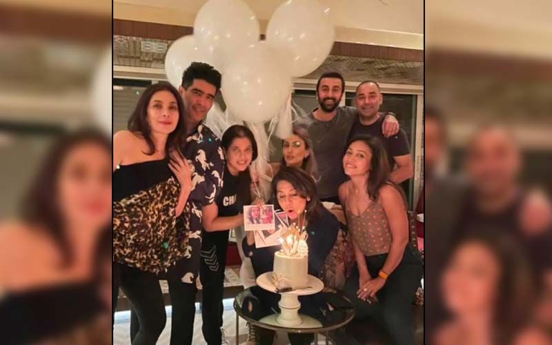 Neetu Kapoor Continues Her Birthday Celebration With Ranbir Kapoor, Riddhima Kapoor Sahni, Manish Malhotra And Others; Check Out PHOTOS