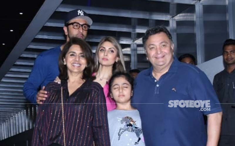 Ranbir Kapoor Recovers From COVID-19 As He Performs Late Actor Rishi Kapoor's 11-Month Prayer Meet Rituals With Sis Riddhima Kapoor